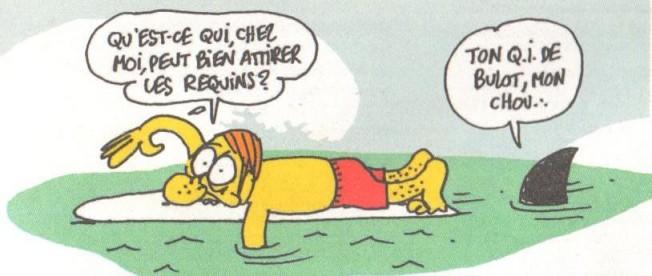 Charlie hebdo le meilleur des pires dessins surf blog surf prevention - Requin rigolo ...