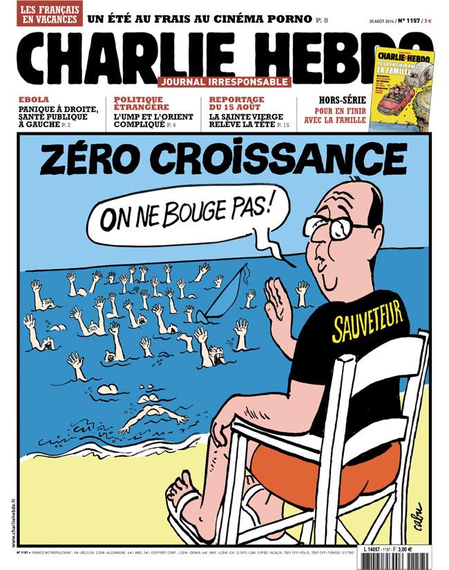 charlie hebdo francois hollande sauveteur
