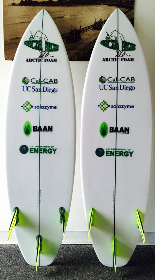 arctic foam algae surfboard