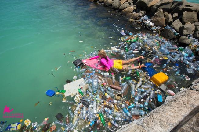 pollution maldives