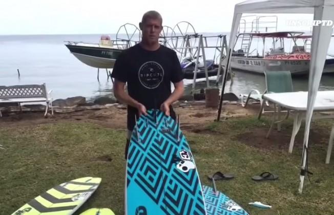 mick fanning surfboard
