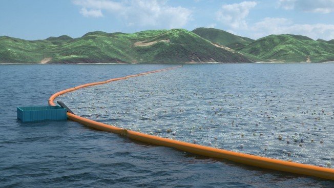ocean cleanup Tsushima
