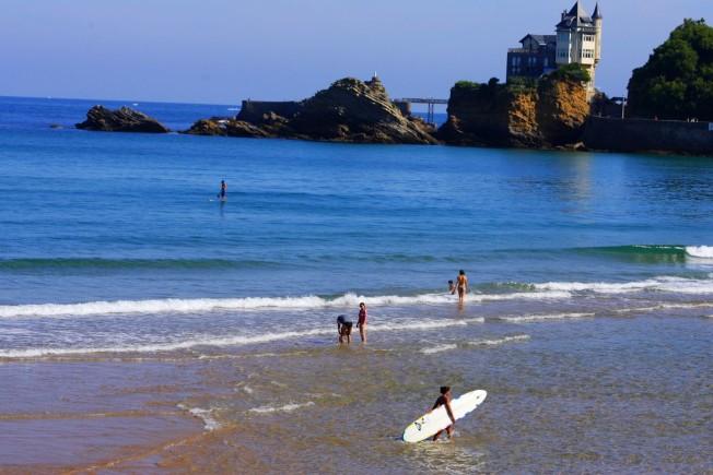 biarritz surf sante