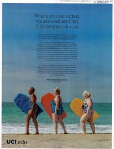surfing alzheimer disease