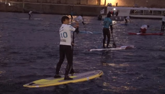 nicolas hulot stand up paddle