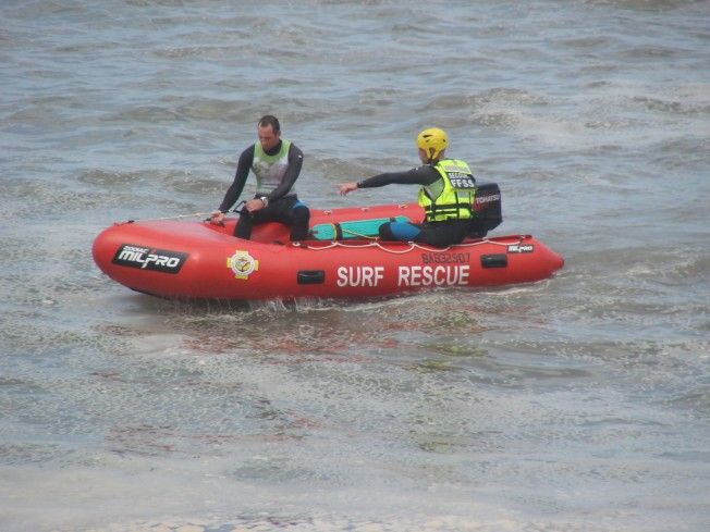 inflatable rescue boat IRB