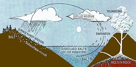 origine sel ocean