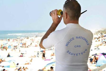 Les CRS MNS armés sur les Plages cet été ?