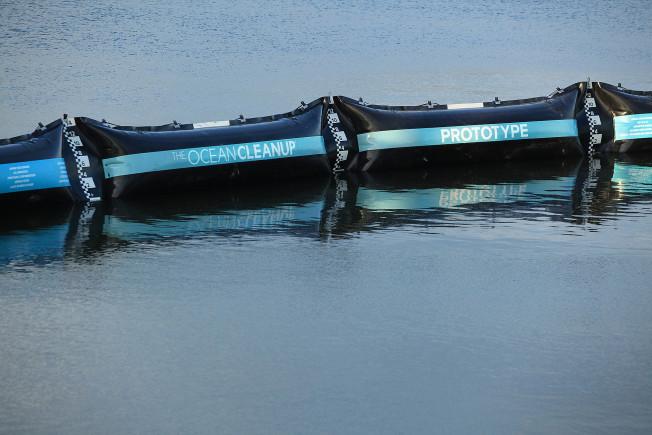 ocean cleanup prototype