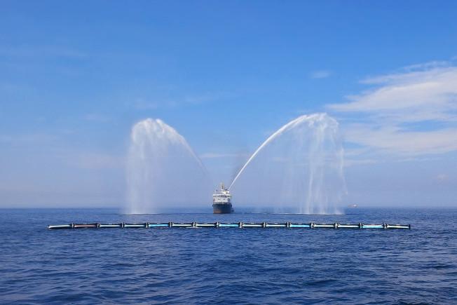 ocean cleanup prototype launch