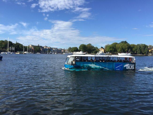 bus aquatique stockholm