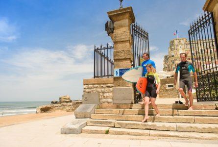 Séjour Surf de Luxe à l'Hôtel du Palais de Biarritz