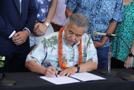 Hawaii Premier État à Adopter l'Accord de Paris