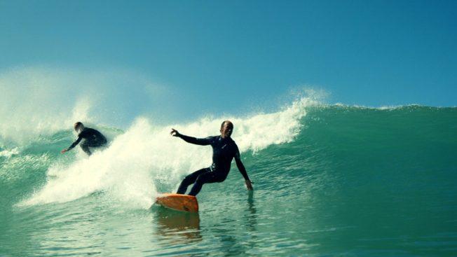 Biarritz surf gang
