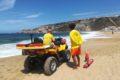 La plage de Nazaré sera surveillée toute l'Année par des Sauveteurs