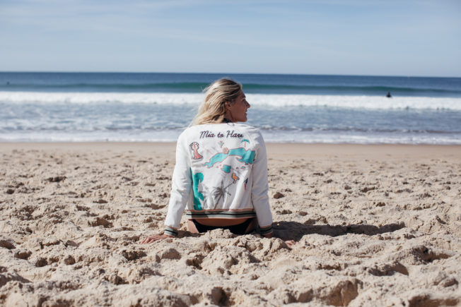 Stephanie Gilmore lors du Roxy Pro France 2016