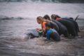 Sauvetage d'une Baleine par des Surfeurs au Pays Basque