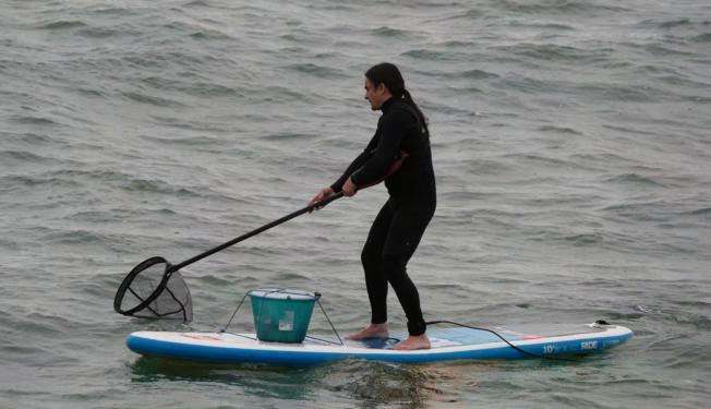 SUP Fishing Plastic : À la Pêche aux Plastiques...